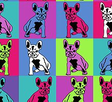 French Bulldogs in color by lil-creatures