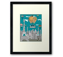adventure days paris Framed Print