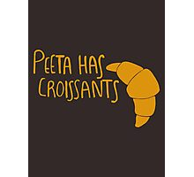 Peeta Has Croissants - Yellow Photographic Print