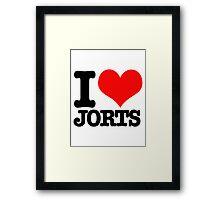 I <3 Jorts Framed Print