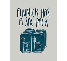 Finnick Has a Six-Pack - Light Shirts Photographic Print