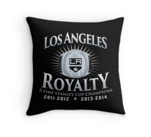 Los Angeles Royalty Throw Pillow