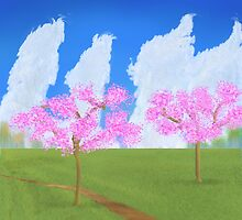 Blossom woods by thebigG2005