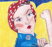 Rosie the Riveter by theartinspirer