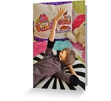 Candy Colored Daydreams Greeting Card