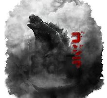 Godzilla, King Of The Monsters by czechiechan