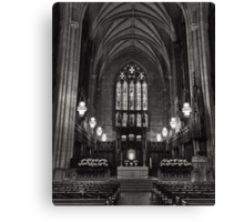 In Peaceful Solitude: Duke Chapel Canvas Print