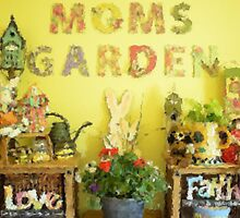 Moms Garden  by Oscar Sage