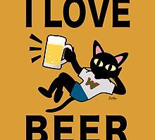 I love beer by BATKEI