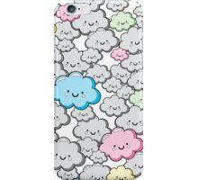 Kawaii Little Colourful Clouds iPhone Case/Skin
