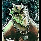 Punk Rock Killer Croc by BryaSaurusREX