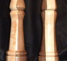 Salt and Pepper Grinders by woodsworksqh