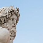 Neptune statue by Mats Silvan