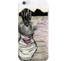 Hurt but here contrasted iPhone Case/Skin