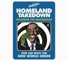 HOMELAND TAKEDOWN by waxmonger