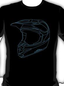 Mx Helmet Blue T-Shirt