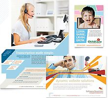 Brochures Design and printing by globalsquaressq
