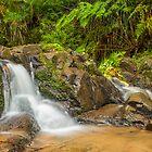 'Olinda Falls' - Victoria by Chris Kean