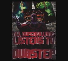 All Supervillains Listen to Dubstep by ZandryX