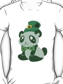 St. Patrick's Day Panda T-Shirt