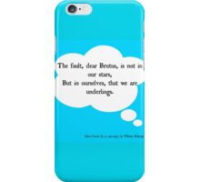 The (Real) Fault in Our Stars iPhone Case/Skin