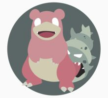 Slowbro - Basic by Missajrolls