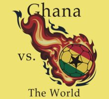 World Cup - Ghana Versus the World Flaming Football by pjwuebker