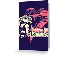 Precious Lil' Princess Greeting Card