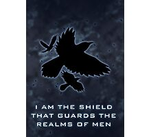 Shield of the Realms Photographic Print