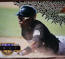 125 - Alex Cole by Foob's Baseball Cards