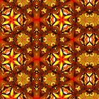 Kaleidoscope Geometry Pattern From Nature 14 by Kenneth Grzesik