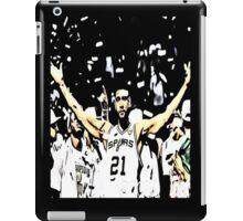 Tim Duncan Winning iPad Case/Skin