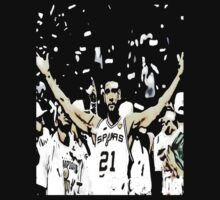Tim Duncan Winning by Jeffrey Garcia