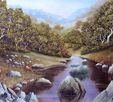 Boulder Creek by John Cocoris