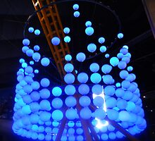 Blue Bubble Lights by carax3