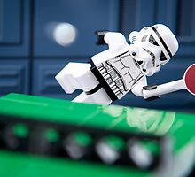"Lego Star Wars Characters iPhone Cases and Table Covers: ""Table Tennis... Anyone?""  by Blue Toad Photography"