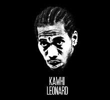 Kawhi Leonard by CalvertSheik