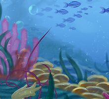 Under the sea by Raichana
