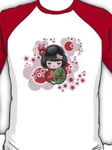 Japanese Kokeshi Doll T-Shirt