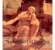 Traditional Oil Painting group avatar Photographic Print