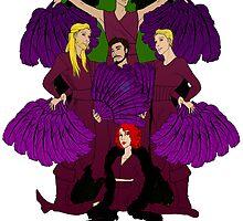 Burlesque Avengers by EvilKitten42