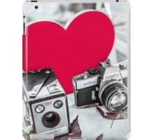 I ♥ Photography Red iPad Case/Skin