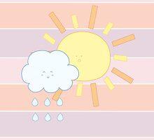 Cloud & Sun by kimidoll