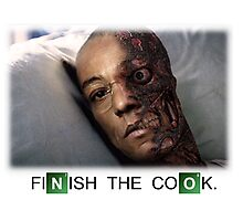 Gustavo Fring 2 Face Photographic Print