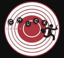Chuck Ninja man target board 2 by ratherkool
