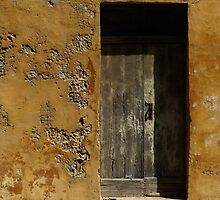 Weathered Doorway by davidandmandy