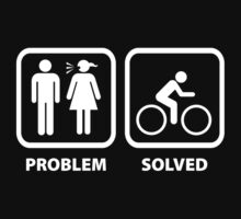 Problem Solved Cycling by DesignFactoryD