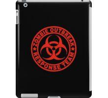 Zombie Outbreak Response Team iPad Case/Skin
