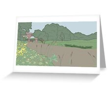 River Mole Greeting Card