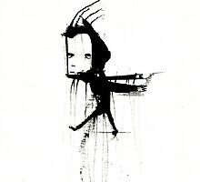 Ink Guy by katebrunsk